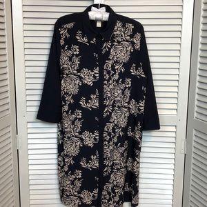 EUC Ann Taylor Loft Shirt Dress
